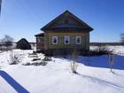 Скачать бесплатно foto  Бревенчатый дом в тихой деревне, недалеко от леса, рядом с речкой, 39009719 в Угличе