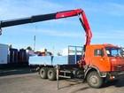 Новое фотографию  Манипулятор, Аренда Камаз 10 тонн, Кран 3 тонны, 72193760 в Ярославле