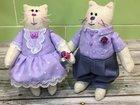 Текстильные игрушки (коты) на заказ