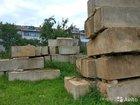 Блоки фундаментные фбс-4, 5, 6 б/у