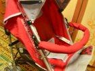 Фотография в Для детей Разное Продам детскую летнюю коляску б/у. Красная в Южно-Сахалинске 1000
