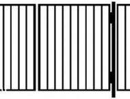 Строительные материалы Продаем садовые металлические ворота от производителя! Готовая конструкция, голый каркас, сваренный из профиля 30*30мм . Посере, Уфа - Строительные материалы