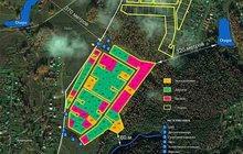Продам участок 13, 91 соток ИЖС с пропиской в коттеджном поселке Лесной остров