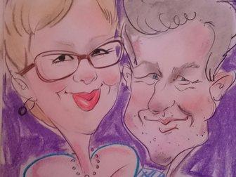 Просмотреть изображение  Художник шаржист, портретист на свадьбу, выпускной, юбилей корпоратив 32924022 в Калуге