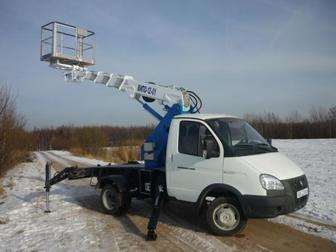 Смотреть фотографию  автовышка Газель, Газель фермер АГП 12м 38965519 в Калуге