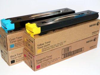 Скачать изображение Принтеры, картриджи Комплект тонер-картриджей Xerox DocuColor 240/242/250/252/260 CMYK 33763113 в Каменск-Уральске