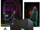 Скачать foto  Оборудование для лазерной рекламы, лазерный проектор для рекламы 39153034 в Казани