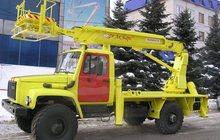 Автоподъемник, автовышка АПТ-14 на базе шасси ГАЗ-33081
