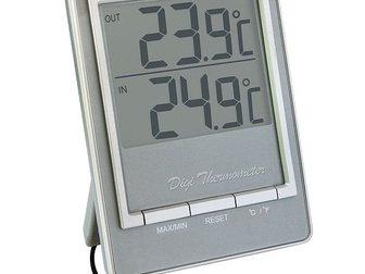 Увидеть foto Разное TM1026 комнатно-уличный термометр (серебро) 32448230 в Казани
