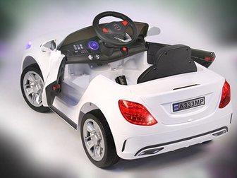 Смотреть фото  Детский электромобиль мерседес а333мп 33536131 в Казани