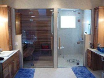 Свежее фото Отделочные материалы Петли для стеклянных перегородок 34064339 в Казани