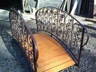 Свежее foto Строительные материалы Мост декоративный кованый для дачи 33040903 в Кемерово