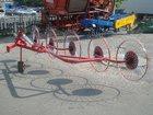 Уникальное фотографию  Грабли-ворошилки 5 колесные Польша 34249191 в Кемерово