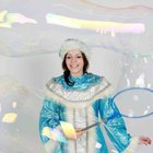 Шоу мыльных пузырей на Новый год