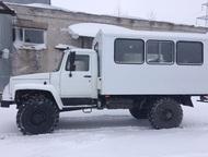Вахтовка газ, автобус вахтовый газ Вахтовый автобус на базе полноприводного ГАЗ
