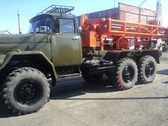 Скачать бесплатно foto  Буровая установка ЛБУ-50 на базе автомобиля ЗИЛ-131 32675116 в Кемерово
