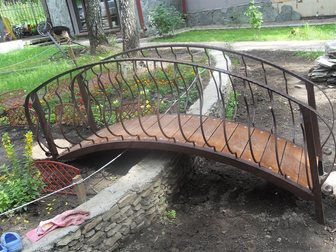 Свежее фотографию Строительные материалы Мост декоративный кованый для дачи 33040903 в Кемерово