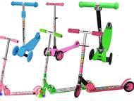 Детские самокаты большой выбор Детские самокаты Большой выбор двухколёсные, трёх