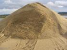 Скачать foto Строительные материалы Песок карьерный, речной, намывной, сухой 38568000 в Коломне