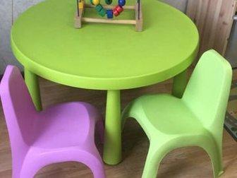 Продам стол икея и 2 стульчика! Состояние хорошееСостояние: Б/у в Колпино