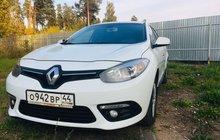 Renault Fluence 1.6МТ, 2014, седан