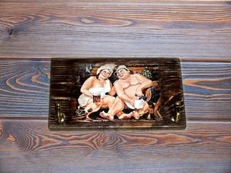 Новое foto Мебель для ванной Вешалка-панно для бани из массива сосны 40990878 в Костроме