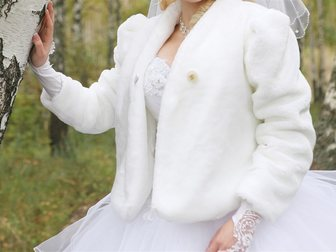Увидеть foto Женская одежда Полушубок свадебный в отличном состоянии 33494385 в Коврове