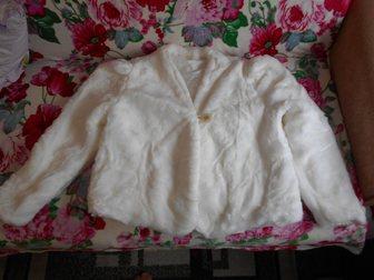 Смотреть foto Женская одежда Полушубок свадебный в отличном состоянии 33494385 в Коврове