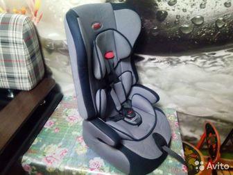 Детское автомобильное кресло SIGER группы I, II и III,  От 9 до 36 кг,  От 9 месяцев до 12 лет,  В идеальном состоянии,  В комплекте имеется сертификат соответствия в Коврове