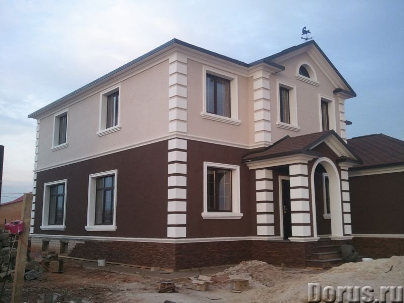 Декор фасада дома фото