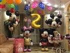 Фото в Услуги компаний и частных лиц Разные услуги Оформляем воздушными шарами детские дни рождения, в Краснодаре 0