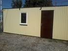 Смотреть изображение  Готовые дома, бытовки, дачные домики, моб, офис 66595144 в Краснодаре