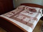 Уникальное фотографию  Покрывало-одеяло из сучённой акриловой пряжи 70513871 в Краснодаре