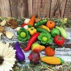 Набор овощей и фруктов для малышей