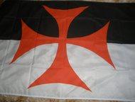 Боевое знамя Ордена Тамплиеров Боевое знамя Ордена Тамплиеров (копия), размер 90