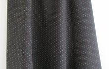 Юбка черная в бело-красный горошек, Германия, р, 50