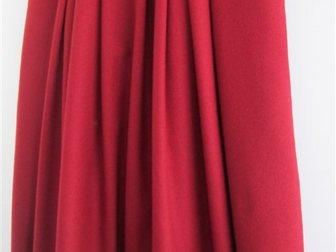 Уникальное foto  Тренд сезона, Юбка бордо в складку, шерсть, р, 48, Мальта, 33832331 в Краснодаре