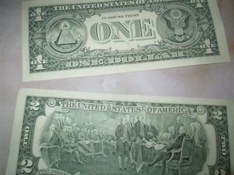 Смотреть фото Коллекционирование Отличный подарок! Купюра 2 доллара США, UNC пресс 34270063 в Краснодаре