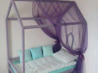 Смотреть фото Детская мебель Детская кровать Домик от производителя 38585566 в Краснодаре