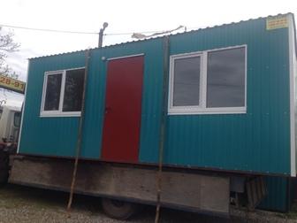 Увидеть фотографию  Дачные металлические домики , бытовки утепленные 69684631 в Краснодаре