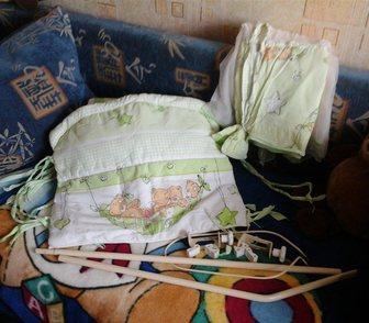 Фото в Для детей Товары для новорожденных Продаю пакет с Б/у постельными принадлежностями в Краснодаре 1800