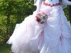 Фотография в Одежда и обувь, аксессуары Свадебные платья Продам свадебное платье р-р от 44 на шнуровке, в Красноярске 8000