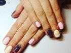 Фотография в Красота и здоровье Косметические услуги Наращивание ногтей гелем, покрытие гель-лаком, в Красноярске 900