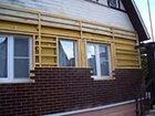 Фото в Строительство и ремонт Строительство домов Смонтируем фасад недорого и быстро в Красноярске 250