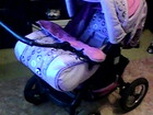 Фото в Для детей Детские коляски Продам коляску трансформер для девочки без в Красноярске 3500