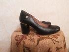 Фото в Одежда и обувь, аксессуары Женская обувь Продам классные, кожаные чёрные туфли, в в Красноярске 500