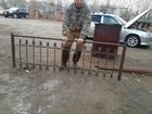 Скачать фотографию  Забор металлический б/у 35-40 м, 70071554 в Красноярске