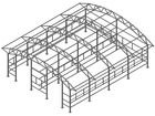 Увидеть foto Другие строительные услуги Проектирование и монтаж ангаров из металлоконструкций 75876796 в Красноярске