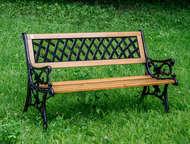 Скамейка садовая VG group Жардин 01, 040, 0 Изящная скамейка Жардин демонстрируе