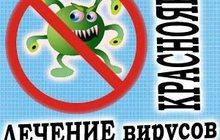 Лечение вирусов, удаление банеров Красноярск